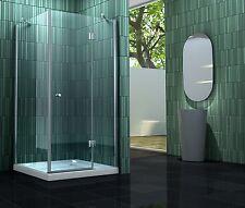 SILL 80 x 80 x 180 cm Glas Duschkabine Dusche Duschwand Duschabtrennung Duschtür
