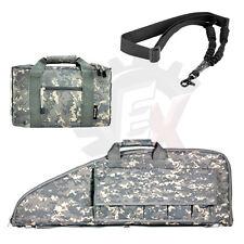 "NcSTAR 38"" Digital ACU Carbine .223 5.56 Pistol Rifle Gun Bag Case Sling Combo"