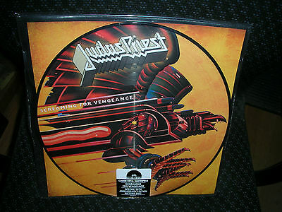 Judas Priest *Screaming For Vengeance *New Picture Disc Record LP Vinyl
