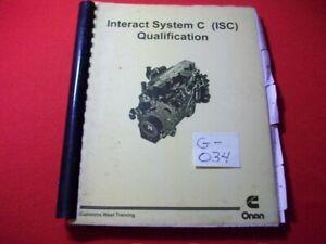 CUMMINS-TECHNICIAN-TRAINING-WORKBOOK-INTERACT-SYSTEM-C-ISC-QUALIFICATION-VGC