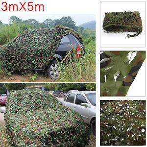 Jungle-Filet-de-Foret-hide-militaire-Camouflage-net-3mx5m-Chasse-Camping