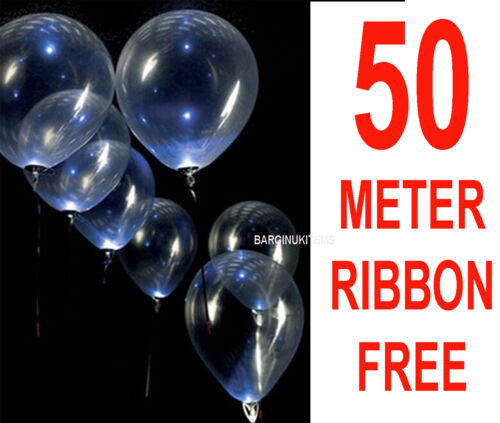 100 pcs Clear Balloon Transparent Balloons Wedding Birthday Party Decorations