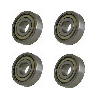 10mm OD 30mm Width 9mm 6200-Z Radial Ball Bearing Double Shielded Bore Dia