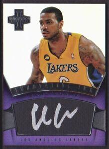 2012-13-Innovation-Innovative-Ink-28-Earl-Clark-Auto-Los-Angeles-Lakers