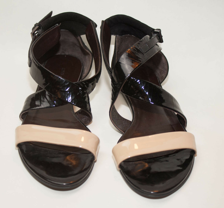 Hugo Boss ♥ ♥ zapatos sandalias ♥ ♥ ♥ * topst * ♥ charol óptica ♥ hugo boss ♥
