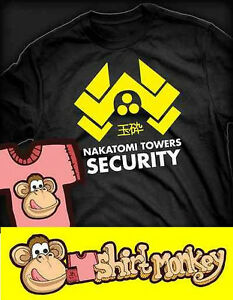 Nakatomi-Towers-Security-Die-Hard-T-shirt-Ladies-Gents-XS-XXL-Many-Colours