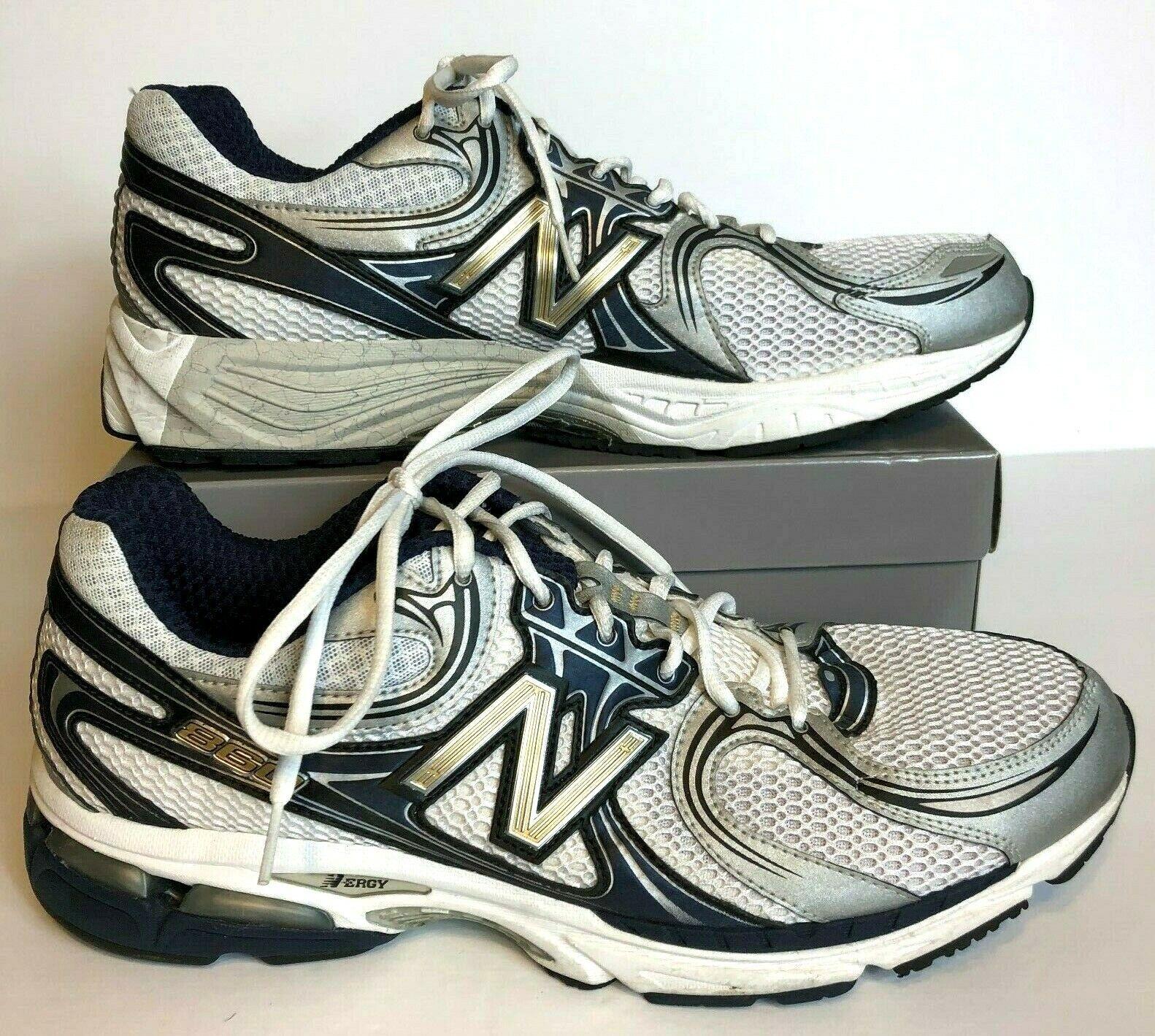New Balance Para Hombre MR860NS blancoo Con Cordones Zapatos tenis de correr n ERGY 860