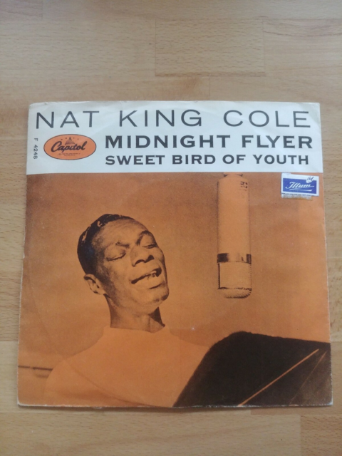 Single, Nat King Cole, Midnight flyer, Jazz, Fin stand og…