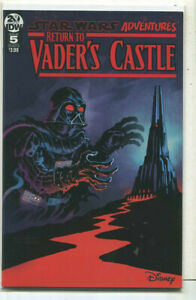 IDW Star Wars Adventures RETURN TO VADER/'S CASTLE #5 first print cover B