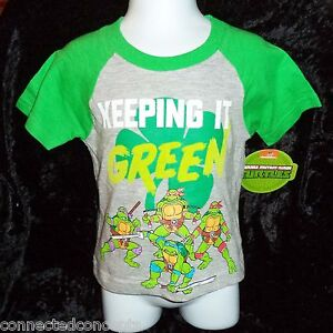 3f8eaffc0 St Patrick's Day TMNT Keep It Green Infant/Toddler Boys T-Shirt (12 ...