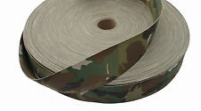 """Double Sided Crye Multicam MTP Camouflage Military Spec 50mm / 2"""" Webbing"""
