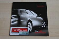97745) Alfa Romeo 156 SW - Preise & tech. Daten & Ausstattungen - Prospekt 01/20