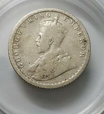King George V-1/4 Rupee 1919 Silver Coin