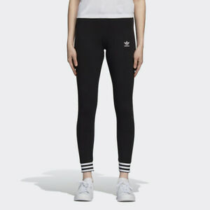 4c916be452c Image is loading New-Adidas-Original-Womens-LEGGINGS-BLACK-DH4249-XS-