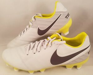 huge discount b5ac5 e6318 Image is loading Nike-Tiempo-Legacy-II-FG-Soccer-Cleats-Women-