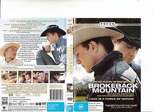 Brokeback Mountain 2005 Heath Ledger Movie Dvd Ebay