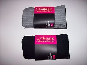 Catherine-Tights-Womens-One-Ribbed-Cotton-Warm-Wintr-Select-Color-Sz-Legwear