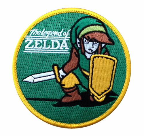 The Legend Of Zelda Brodé 8.9cm Patch Thermocollant