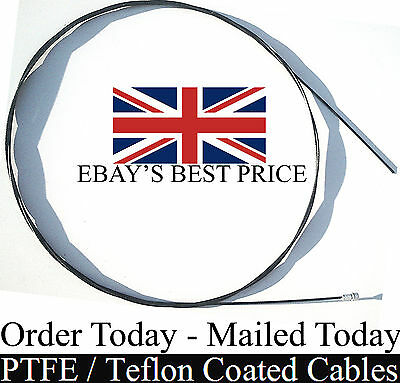 Shimano SRAM Compatible PTFE Teflon Road Bike Cycle Pear Brake Inner Cables x2