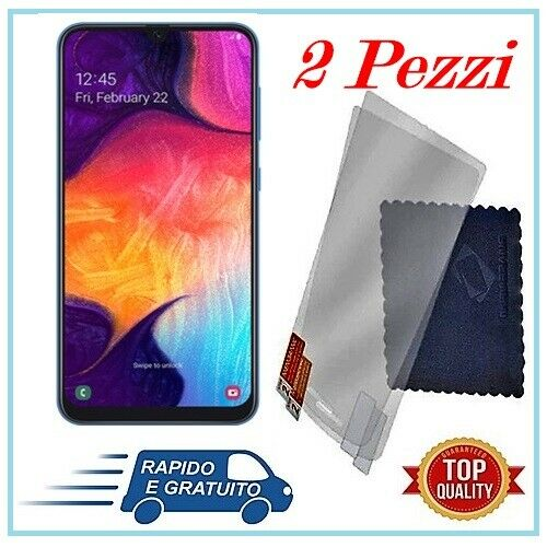 Samsung Galaxy: PELLICOLA VETRO TEMPERATO PER SAMSUNG GALAXY A50/A40/A30/A20/A10/A70/A51/A71/A8