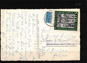 BRD-139-Briefe-Belege-2-Wahl-Marke-stark-beschaedigt-EF-auf-Postkarte