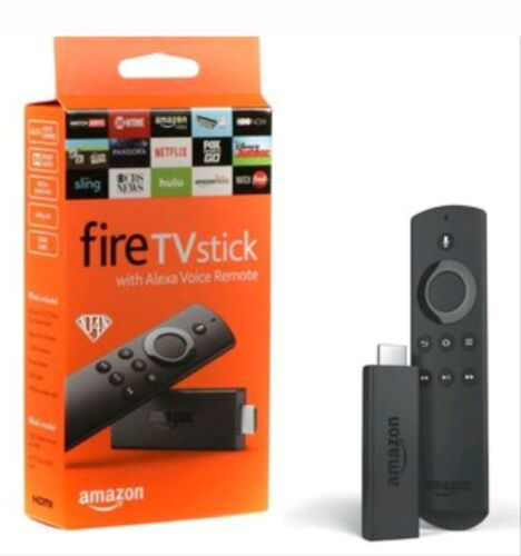 with Alexa Voice Remote Media Streamer 2nd Generation Amazon Fire TV Stick