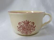 "Moulin des Loups Armoiries Coffee Tea Cup Unicorn Shield Design 2-5/8"" high"