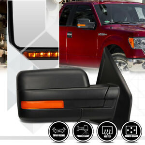 Right-Passenger-Side-Power-Heated-LED-Signal-Replacement-Mirror-for-04-14-F-150