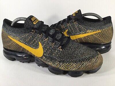 Nike Air Vapormax Flyknit Mineral Gold