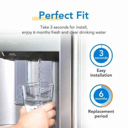 3 Pack Replacement Water Filter for GE Appliance GFE26GSHSS Refrigerators