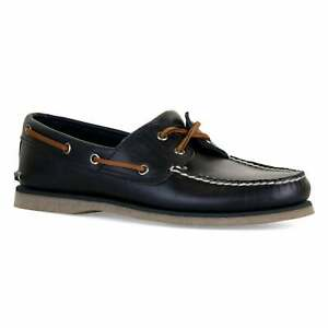 Timberland-Homme-Classique-Chaussures-Bateau-Marine