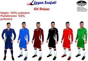 Kit-Deinze-Legea-Manica-Lunga-Sport-Calcio-Muta-Calcetto-Treetech