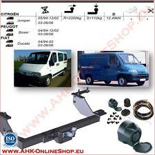 13pol ES univ Anhängekupplung AHK abnehmbar Für Fiat Ducato Kasten und Bus 06