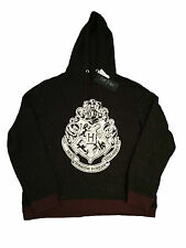 PRIMARK LADIES WOMENS HARRY POTTER CREST HOODIE JUMPER SWEAT OFFICIAL BNWT 16