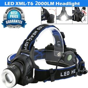 Zoomable-80000LM-T6-LED-Headlamp-Headlight-Flashlight-Head-Torch-18650-Camping