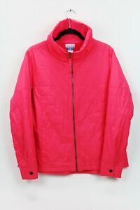 Columbia-Women-039-s-Size-XL-Pink-Fleece-Lined-Puffer-Winter-Jacket