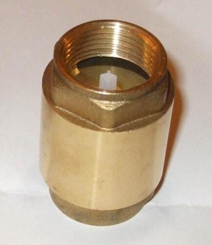 """Laiton Clapet eau froide Chaude 110degc rating 3//4 /""""BSP nrv75ht"""