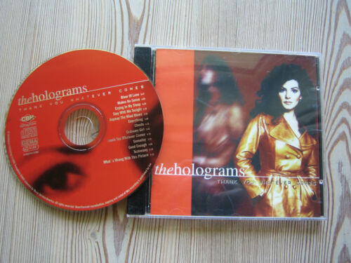 1 von 1 - CD   the holograms  Than you whatever comes   Zustand gut