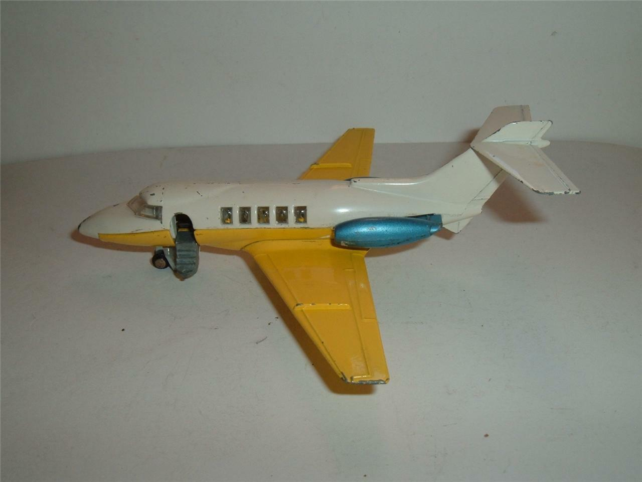 DINKY NO 723 HAWKER SIDDELEY 125 IN USED ORIGINAL CON'D SEE THE PHOTOGRAPHS
