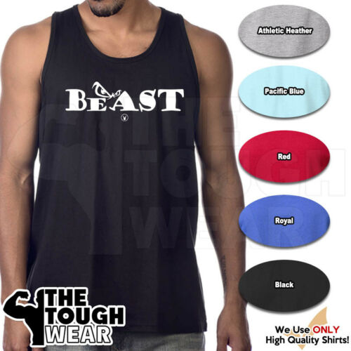 BEAST Gym Rabbit Muscle T Shirt Tank 6color Sleeveless Bodybuilding Fitness D157