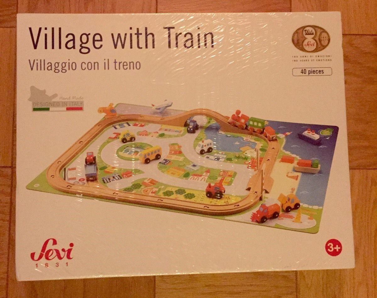 Nuovo  Sevi Village Train Set-Sealed