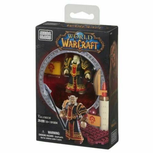 VALOREN Mega Bloks World of Warcraft ELF PRIEST 91004 WOW megabloks