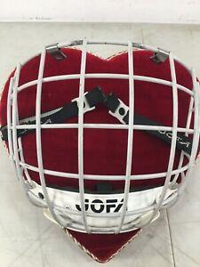 Vintage-cage-senior-51-275-270g-514-Jofa-bubble-helmet-hockey-A