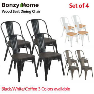 Set-Of-4-Wood-Seat-Metal-Dining-Side-Chair-Stackable-for-Bistro-Cafe-Dining-Room