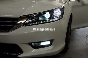 9Th Gen Accord >> Details About Full Front Led Switchback Upgrade Kit For 2013 15 Honda Accord 9th Gen Sedan Jdm