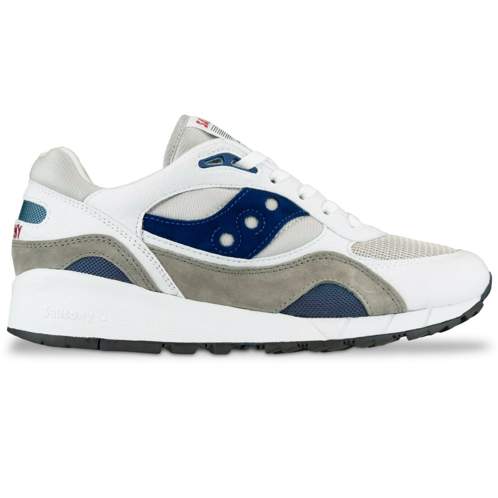 Saucony Trainers - Saucony Originals Shadow 6000 Vintage trainers - White Grey