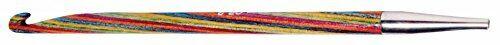KnitPro Symfonie de 5 mm Ganchos de ganchillo tunecino de un solo extremo de varios colores