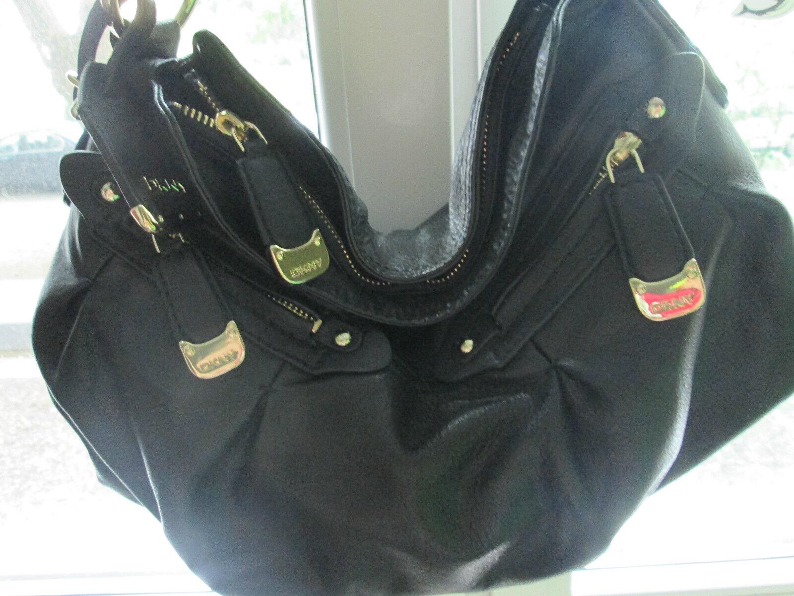 DKNY Tasche schwarz schwarz schwarz aus  NEU | Eleganter Stil  | Wirtschaft  | Produktqualität  aad33e