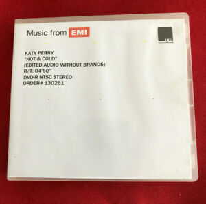 KATY PERRY hot & cold edited audio wo br UK promo dvd acetate ABBEY ROAD studios