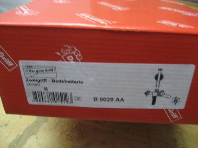 Der gut Griff ND- Badebatterie Badebatterie Badebatterie B -Der gute Griff B 9029 AA  NEU&OVP 2eb876